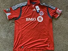 NEW VINTAGE AUTHENTIC TORONTO FC SOCCER JERSEY XL ADIDAS RED FOOTBALL CANADA