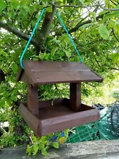 STRONG TWO POST HANGING  BIRD TABLE