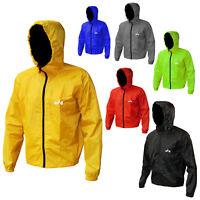 Cycle Rain Jacket With Hood Cycling Waterproof Rain Jacket S to XXL 6 Colors