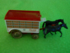 Coca-Cola Horse Drawn Covered Delivery Wagon  ~ Days Gone ~ 4 1/2 ""