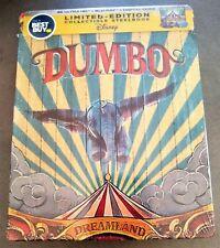 Disney DUMBO 4K UHD + Blu-Ray + Digital Best Buy Exclusive STEELBOOK Region Free