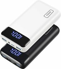 Iniu Portable Charger 20w PD Fast Charging 20000mah LED Display iPhone Android