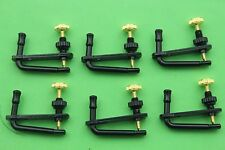 60pcs New style violin black string adjuster fine tuners 3/4-4/4 Accessories