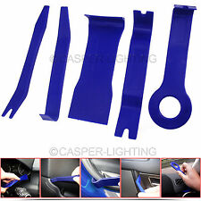 5 Pieces Car Door Plastic Trim Panel Dash Installation Removal Pry Tool Kit BLUE