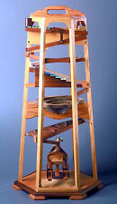 Wood plans for toy children love, a Marble Tower