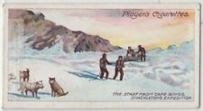 Cape Royds Shackleton Expedition South Pole Antarctic c100 Y/O Trade Card