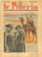 WWII Egypt Cairo Général Weygand Field Marshal Archibal Wavell 1940 ILLUSTRATION