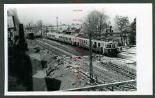 RTB48t SWITZERLAND Sudostbahn electric unit at Arth Goldau 29/4/75