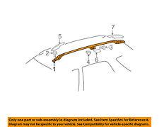 MERCEDES OEM 98-03 ML320 Roof Rack Rail Luggage Carrier-Rail Left 1638400524