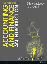 NEW 3 Days 2 AUS Accounting and Finance An Introduction 8E McLaney Atrill 8th Ed