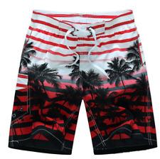 Men's Hawaiian Shirt Summer Floral Printed Beach Shorts Sleeve Tops Pants
