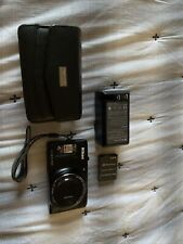 Nikon COOLPIX S9500 18.1MP Digital Camera - Black with two batteries and case