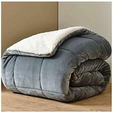 SHERPA Fleece WEIGHTED BLANKET Plush Velvet Soft Warm Sensory Anxiety AUTISM