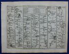 HEREFORD, WORCESTER, COVENTRY, LEICESTER, Pl 79, antique road map, Jefferys 1775