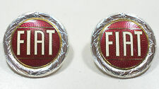 2 NEW Hood emblems Fiat 124 Spider2000, Fiat 128, etc.