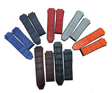 New Alligator Design Rubber Replacement Watch Band Strap For(FIT)Hublot Big Bang