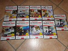 9 PC DVD ROM ENCICLOPEDIA 2008 MEDICA CINEMA SCIENZE GIOCHI CUCINA STORIA FINSON