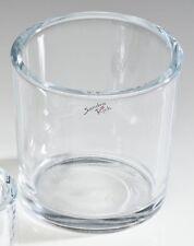 "SANDRA RICH, Glasübertopf "" cylindrical heavy Pot H 10cm / 10cm ""  Art.: 7085-10"