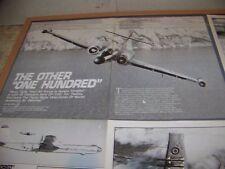 VINTAGE..AVRO CF-100 HISTORY..HISTORY/PHOTOS/CUTAWAY..RARE! (848K)