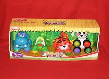 Fisher Price 2006 AMAZING ANIMALS GIFT PACK - Tiger Hippo Panda Crocodile HTF!