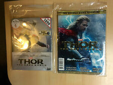Marvel THOR The Dark World [2D + 3D] Blu-ray STEELBOOK [THAILAND] + Thor Booklet