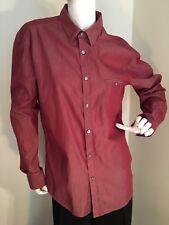 HUGO BOSS MODERN RICH LOOKING MEN DRESS SHIRT SIZE LARGE