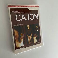 Cajon - Lehrkurs Instructional Course von Conny Sommer | DVD r05