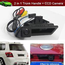 2 in 1 Trunk Handle + Reverse Camera For BMW E82 E88 E90 E91 E92 E93 E60 E61 E70