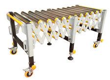 Adjustable 12 Roller Stand Transport Warehousing Safety Material Handling Supply