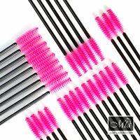 Disposable Mascara Wand Pink Brush Eyelash Extension Makeup