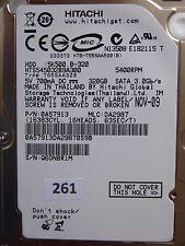 320GB Hitachi HTS545032B9A300 | 0A57913 | DA2987 | 220 0A90161 01 #261