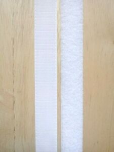 Velcro Sew On Tape Hook And Loop For Fabric Sewing Stitch Black / White Fastener