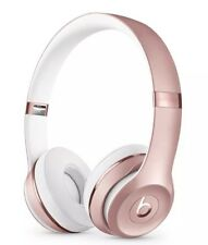 NEW! Beats by Dr. Dre Solo3 Wireless Over the Ear Headphones - Rose Gold