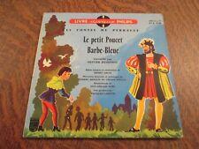 45 tours livre disque les contes de CHARLES PERRAULT le petit poucet