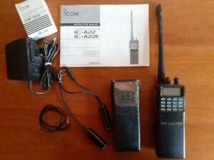 ICOM VHF Air Band Transceiver IC-A22E