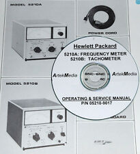 Hp 5210A 5210B Operating & Service Manual