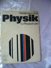 Physik für Realschule - Weidmann-Zins Schulbuch Lehrbuch