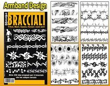 ARMBAND Tattoo Flash Design Book 66-Pages Cursive Writing Art Supply