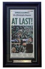 Philadelphia Eagles Framed Feb 5 2018 Super Bowl 52 Champions Inquirer Cover