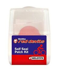 Bike-Cycle-Bicycle Weldtite Red-Devil Self Seal Puncture Repair Patches