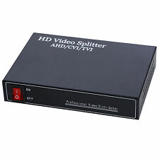 BNC HD 1 in 4 Ports Out Video Splitter AHD CVI TVI Video Amplifier Distributor