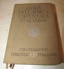 Guida Africa orientale Milano 1938
