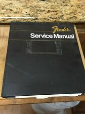 1986 Fender Guitar Company Dealer Service Manual Binder + Extras