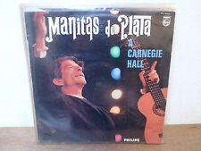 "LP 12 "" MANITAS DE PLATA - A Carnegie Hall - VG++/VG+ - PHILIPS P70 462 - France"