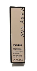 Mary Kay TimeWise Luminous Wear Liquid Foundation 038705 Beige 2 Normal To Dry