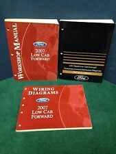 3 Shop Manuals for the 2007 Ford Low Cab Forward