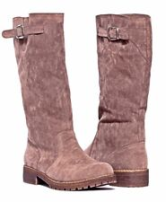 Muk Luks Angel Light Brown Boots Buckle Detail Size 8 New In Box NIB
