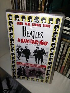 Vhs THE BEATLES A hard day's night SPECIAL EDITION 1995 SIGILLATA/SEALED