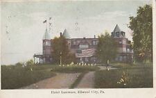 Hotel Lawrence in Ellwood City PA 1908