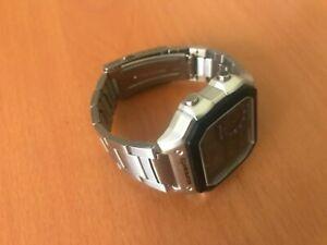 Casio Men's Stainless Band Wristwatch -Digital 45mm